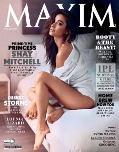 2015 04 00  Shay Mitchell  «MAXIM» India  pg000